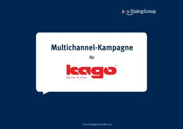 Multichannel-Kampagne - a+s DialogGroup