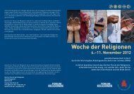 11. November 2012 (PDF) - Zürcher Forum der Religionen
