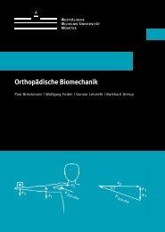 Orthopädische Biomechanik - Wellwave.net AG