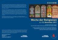 Woche der Religionen - Zürcher Forum der Religionen