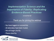 View the webinar slides - National Criminal Justice Association