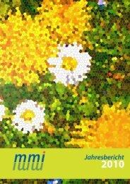 Jahresbericht 2010 - Marie Meierhofer Institut für das Kind