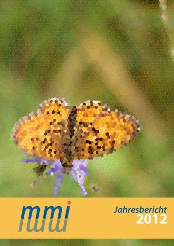 mmi Jahresbericht 2012 - Marie Meierhofer Institut für das Kind
