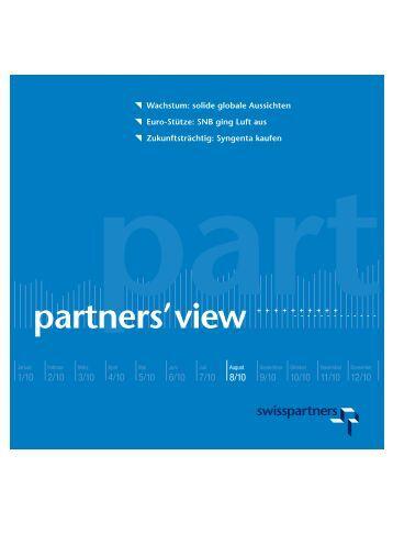 Wachstum: solide globale Aussichten Euro-Stütze ... - Swisspartners