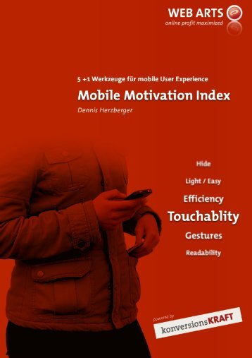 Der Mobile Motivation Index im Einsatz - konversionsKRAFT