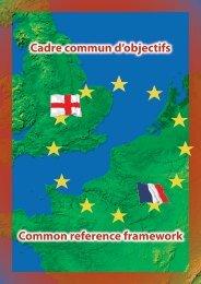 Le Cadre commun d'objectifs - AEF Europe
