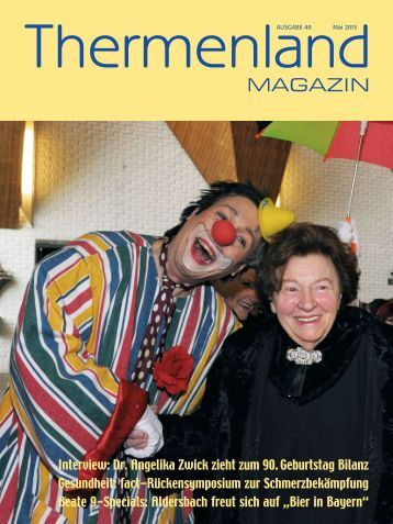 Thermenland Magazin Mai 2015