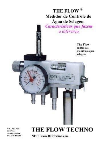 medidores de água de selagem - T he F low