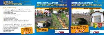 mut Zur VerAntwortung mut Zur VerAntwortung - CDU ...