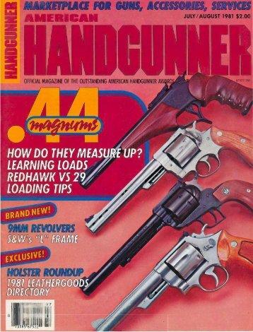 American Handgunner Jul/Aug 1981 - Jeffersonian