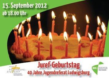Juref-Geburtstag