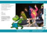 Flyer KjG Traineeprogramm für die muttersprachliche Jugendarbeit