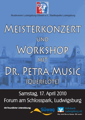 Workshop - Musikverein Oßweil Stadtkapelle Ludwigsburg