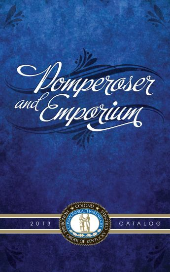 Emporium Catalog - Honorable Order of Kentucky Colonels