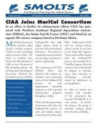 Volume 24 Issue 1 - Cook Inlet Aquaculture Association, Kenai, Alaska