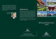 RWB Special Market Fonds • Asia II