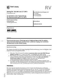 Antrag Nr. V/A 444 vom 2.7.2013 - DIE LINKE. Fraktion im Stadtrat ...