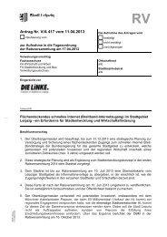 Antrag Nr. V/A 417 vom 11.04.2013 - DIE LINKE. Fraktion im Stadtrat ...