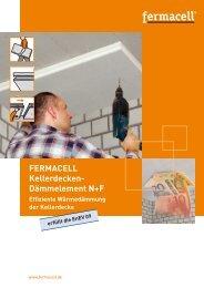 FERMACELL Kellerdecken