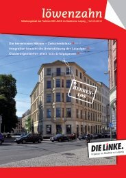 löwenzahn - DIE LINKE. Fraktion im Stadtrat zu Leipzig