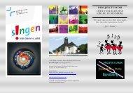 Unser Neuer Flyer ist da. - Evangelische Kirchengemeinde Bensberg