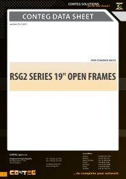 conteg data sheet rsg2 series 19