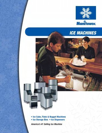 ICE MACHINES - Ice Makers or