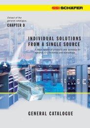 Chapter D – General Catalogue, english - SSI Schäfer