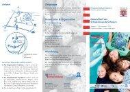 Gesundheit von Schülerinnen & Schülern Zielgruppe Veranstalter ...