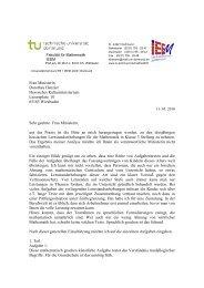 Frau Ministerin Dorothea Henzler Hessisches Kultusministerium ...