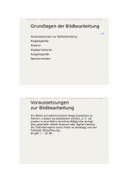 Grundlagen der Bildbearbeitung ... - Kunstschule-digital.de