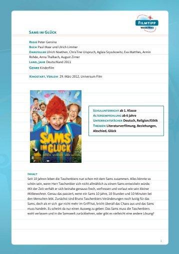FilmTipp Sams im Glück - Vision Kino