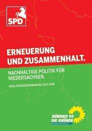 Erneuerung und Zusammenhalt Nachhaltige Politik ... - GEW-Wittmund