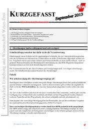Herunterladen - GEW – Kreisverbandes Leer
