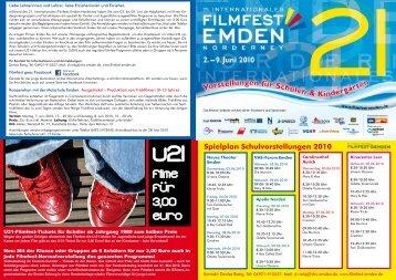Filme fur 3,00 euro - International Film Festival Emden-Norderney