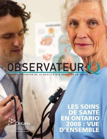 Observateur de la Qualite 2008—Rapport Complet (PDF, 4.6MB)