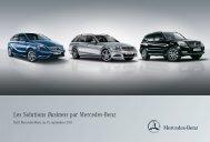 Les Solutions Business par Mercedes-Benz - Mercedes-Benz France