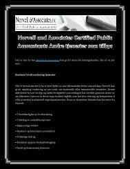 Norvell and Associates Certified Public Accountants Andre tjenester som tilbys