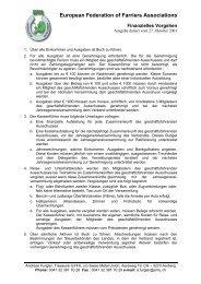 European Federation of Farriers Associations (EFFA)