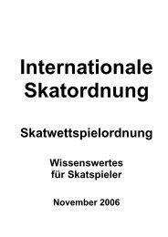 Internationale Skatordnung (ISkO)