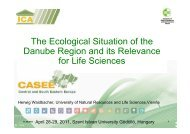 Presentation on the Ecological situation of the Danube Region and ...