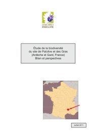 le premier bilan de l'étude de la biodiversité de Païolive, un pdf à ...