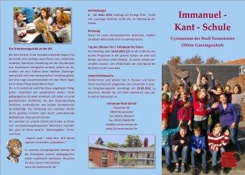 Immanuel - Kant - Schule - Stadt Neumünster