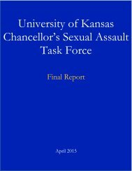 Sexual Assault Task Force Final Report