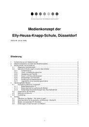 Medienkonzept der Elly-Heuss-Knapp-Schule, Düsseldorf
