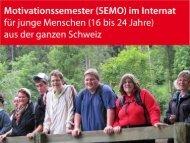 Vortrag von Beat Fasnacht - CH-SEMO