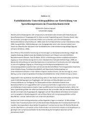 Fachdidaktische Unterrichtsqualitäten zur Entwicklung von ...