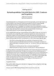 Herkunftssprachlicher Unterricht Russisch in NRW - Deutsche ...