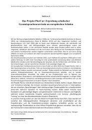 Das Projekt PlurCur - Deutsche Gesellschaft für ...
