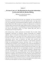 """""""We haven't met yet"""": Die Bedeutung des literarisch-ästhetischen ..."""